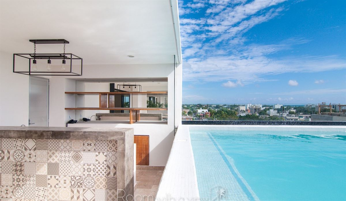 Bonito hotel situado en la costa derecha de Playa del Carmen