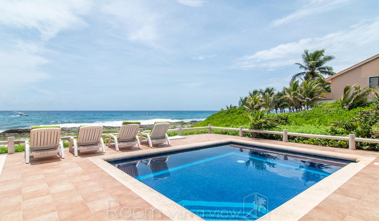 Increíble villa frente al mar en Puerto Aventuras
