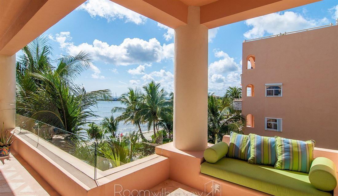 Increíble condominio frente al mar en Puerto Aventuras