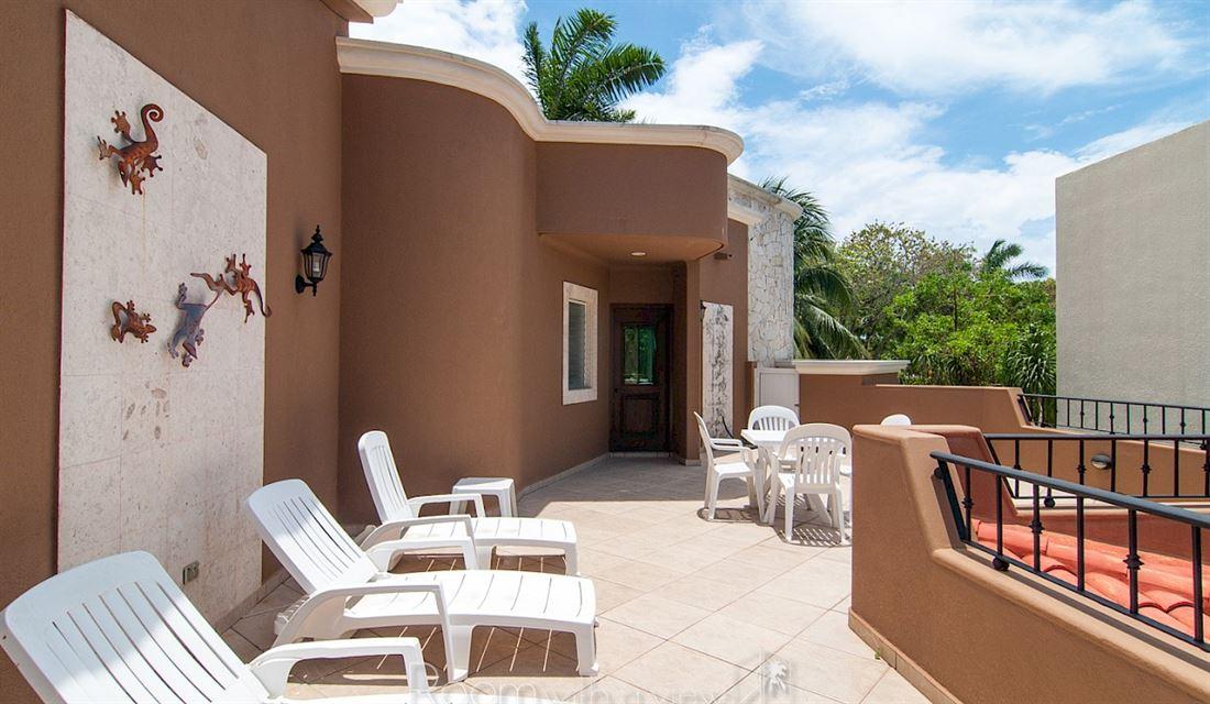 Maravillosa villa de lujo en Playacar en venta