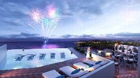 Lujosos Condominios frente al mar en Playa del Carmen en venta