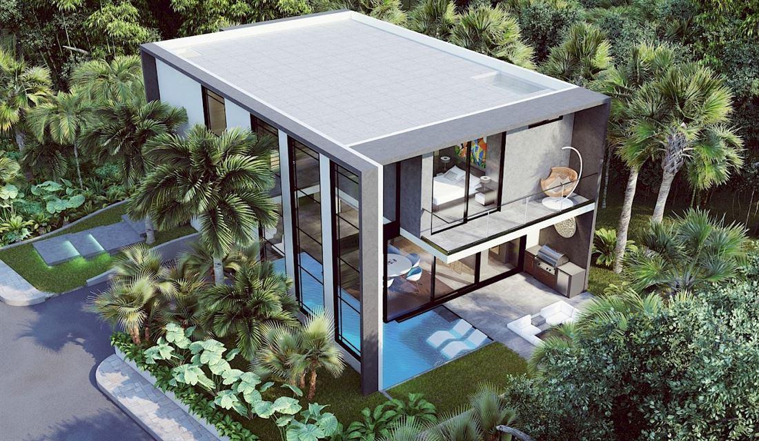 Elegante villa ultra moderna en Tulum