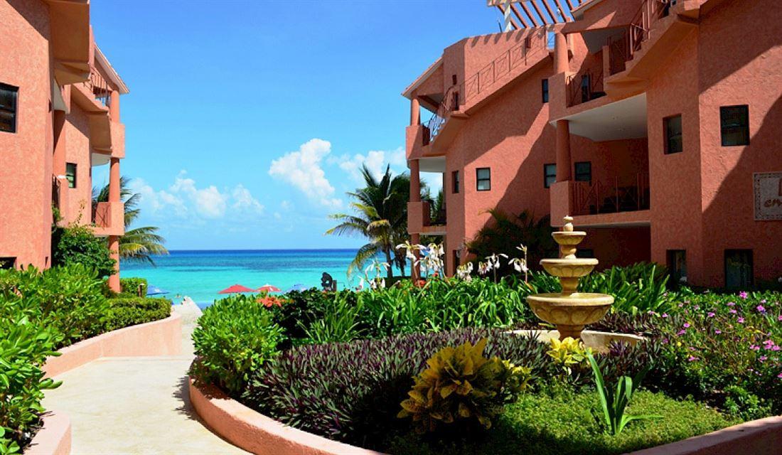 Maravilloso condominio con vista al mar en Playa del Carmen